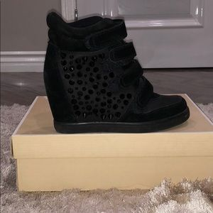 Aldo ankle boots with spikes